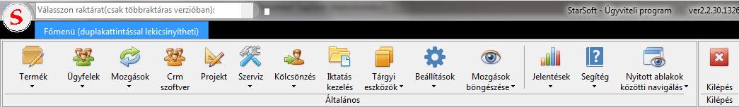 Raktár szoftver